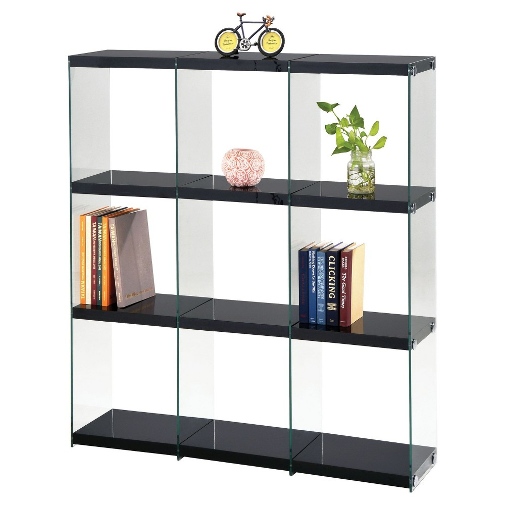 Decorative Bookshelf 53 Black - Acme Furniture