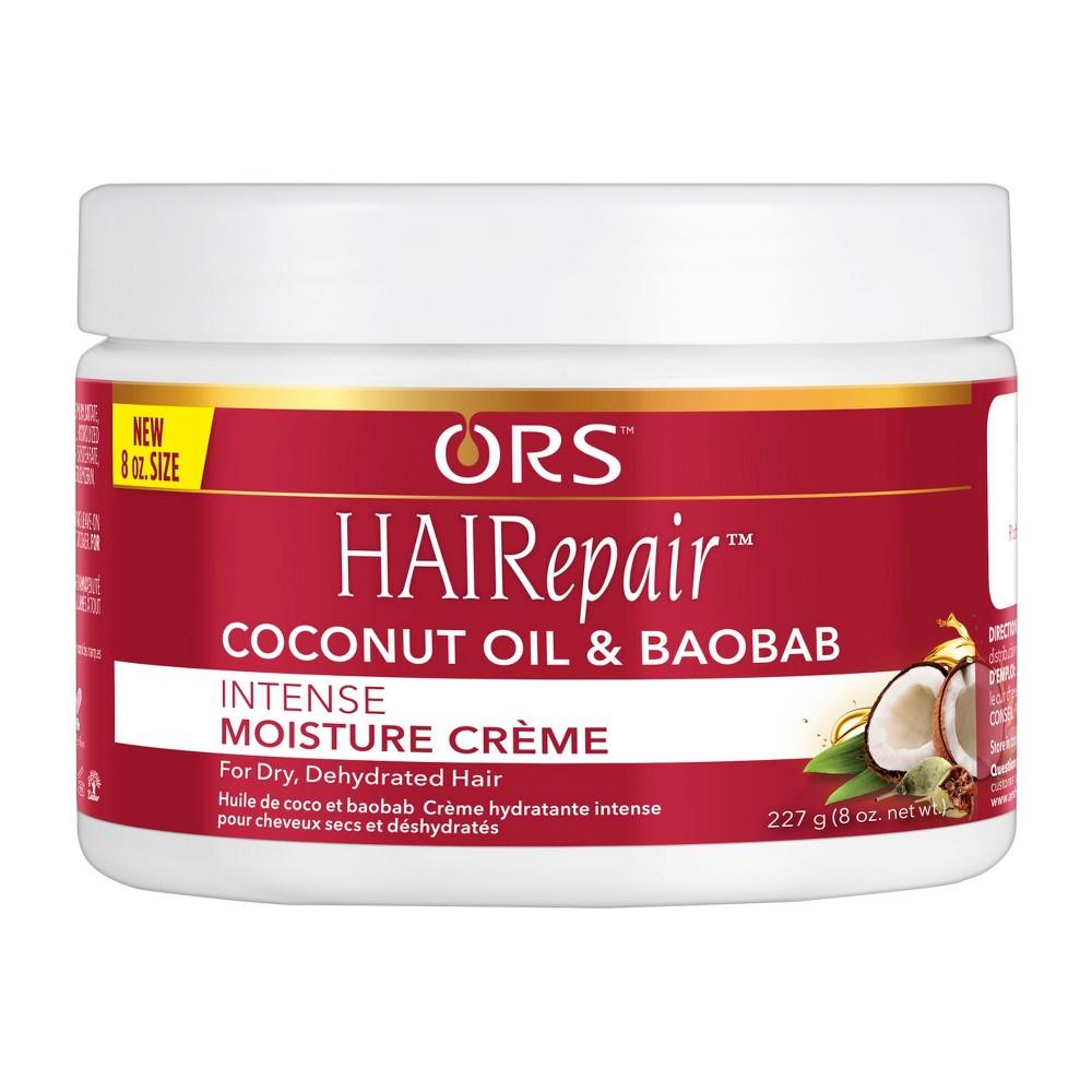 Image of ORS HAIRepair Coconut Oil & Baobab Intense Moisture Crème - 8oz