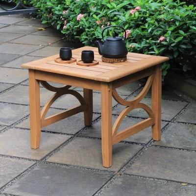 Abbington Teak Patio Side Table - Cambridge Casual