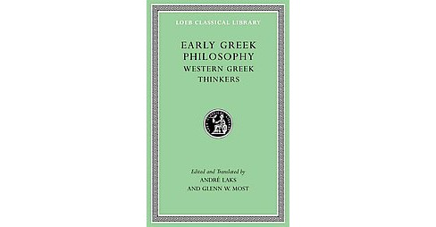 Early Greek Philosophy : Beginnings and Early Ionian Thinkers (Vol 2) (Hardcover) - image 1 of 1