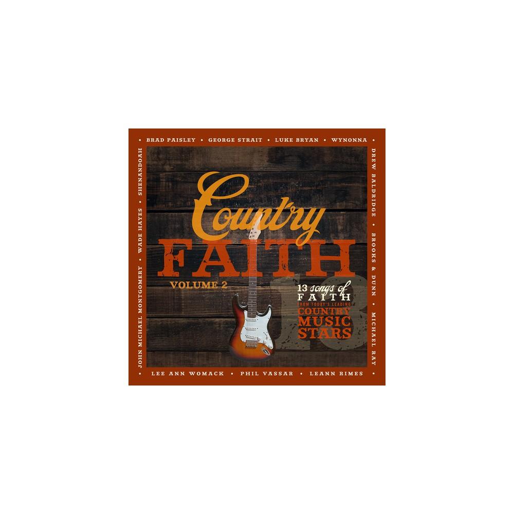 Various - Country Faith:Vol 2 (CD)