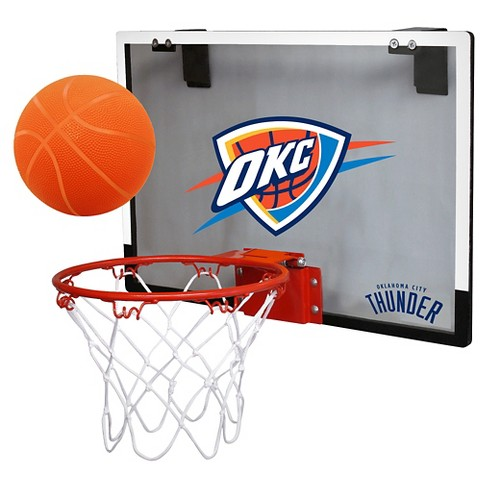 Oklahoma City Thunder Rawlings Polycarbonate Over-The-Door Mini Hoop - image 1 of 1