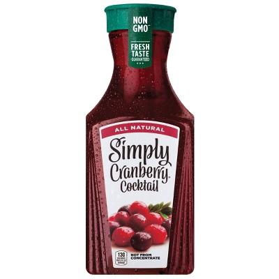 Simply Cranberry Cocktail Juice - 52 fl oz