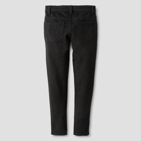 9ea30d4f1c78cc Girls' Knit Jeggings Pants - Cat & Jack™ Black : Target