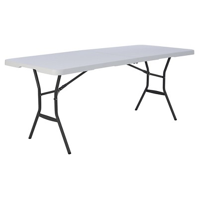 6  Outdoor Fold in Half Table - Lifetime
