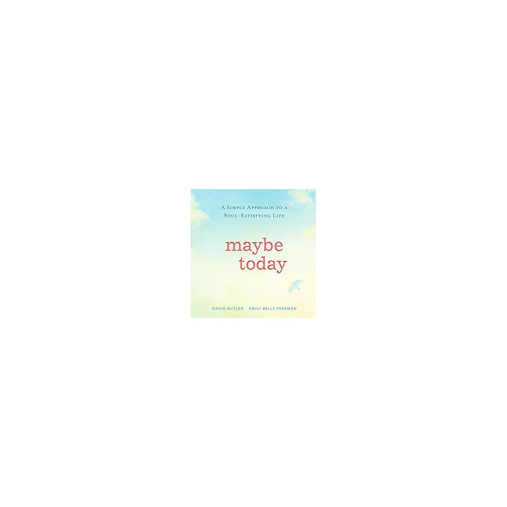 Maybe Today (Hardcover), Books