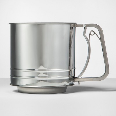 Stainless Steel Flour Sifter - - - - - - - - - - - - - Made By Design™