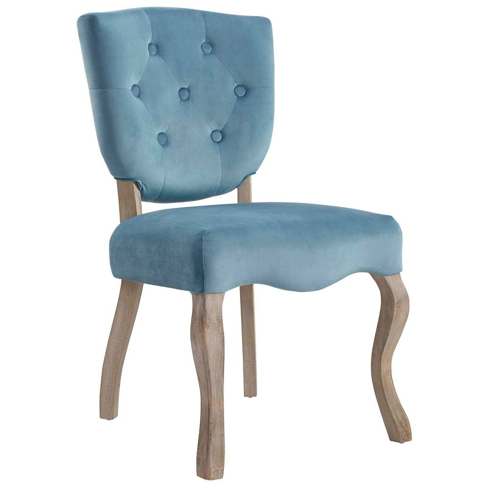 Array Vintage French Dining Side Chair Sea Blue - Modway