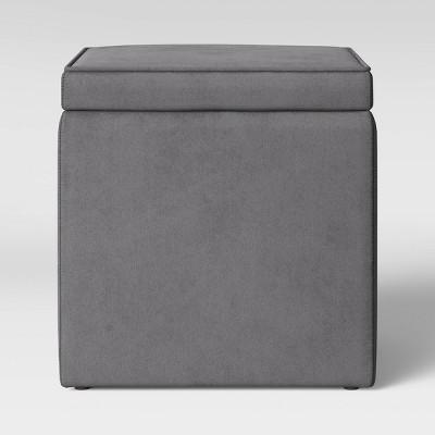 Storage Ottoman Gray - Room Essentials™