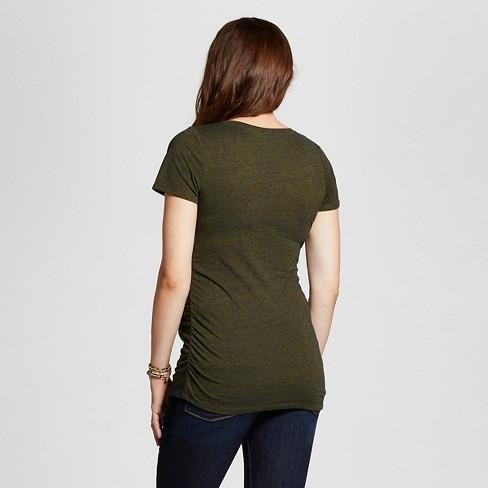 b9256aae850de Maternity T-Shirt Green - M - Liz Lange® For Target : Target