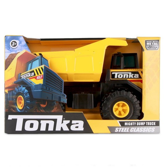 Tonka - Steel Classic Mighty Dump Truck image number null