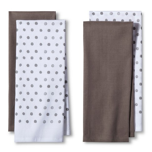 4pk Gray Nbspshapes Nbspkitchen Towel Nbsp Room Essentials Target