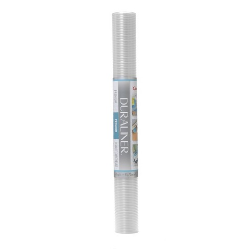 Con-Tact Brand Grip Premium Non-Adhesive Shelf Liner- Ribbed Clear (18''x 4') - image 1 of 4