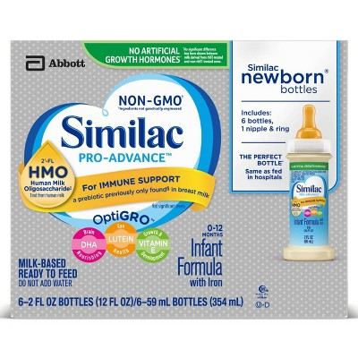 Similac 6pk Pro-Advance Infant Formula - 12oz