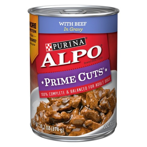 Alpo Homestyle with Beef Prime Cuts in Gravy Wet Dog Food - 13.2oz - image 1 of 3