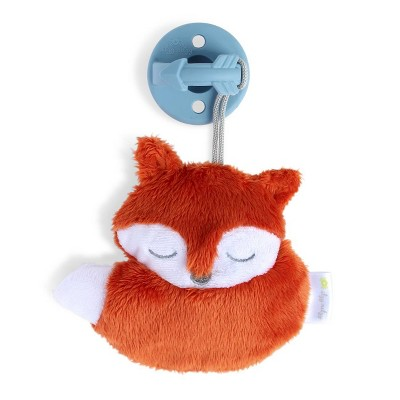 Itzy Ritzy Sweetie Pal - Pacifier and Plush Pacifier Pal - Fox