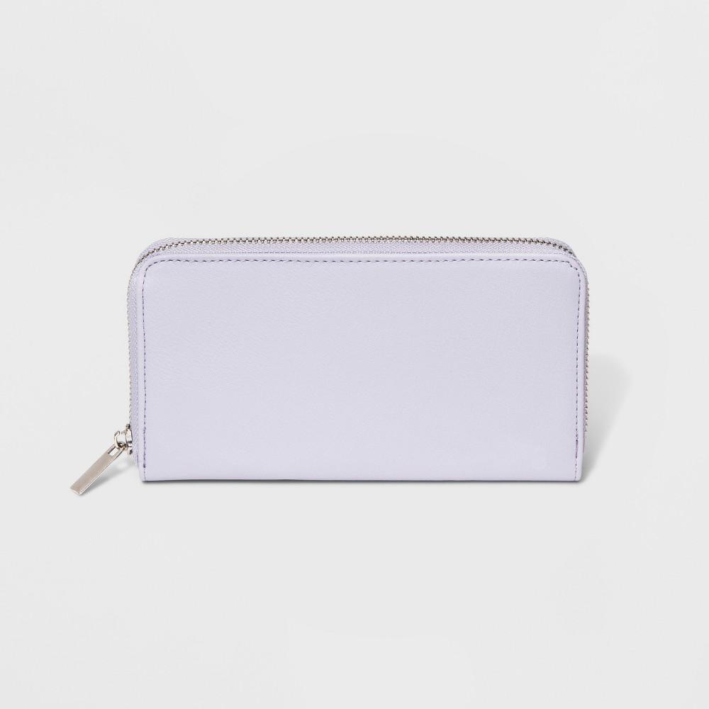 Women's Zip Around Wallet - Wild Fable Purple