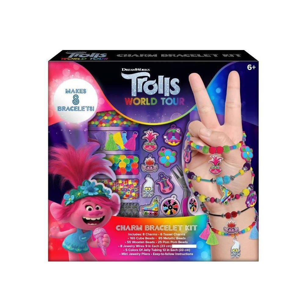 Image of Trolls 2 World Tour Charm Bracelet Activity Kit