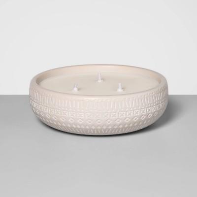 Citronella Matte Glaze Multi-Wick Ceramic Candle - Opalhouse™