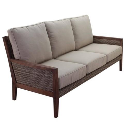 Buena Vista Sofa - Brown - Courtyard Casual - image 1 of 4
