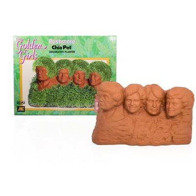 Joseph Enterprises, Inc The Golden Girls Rushmore Chia Pet Decorative Planter Toynk Exclusive