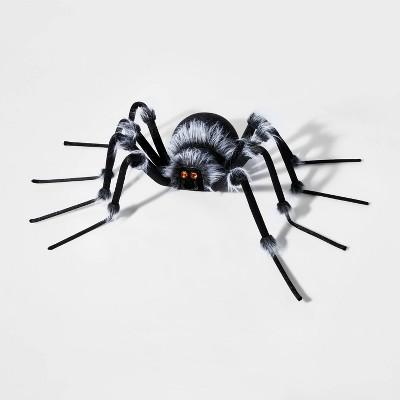 Plush Spider with Jewel Eyes XL Halloween Decorative Prop - Hyde & EEK! Boutique™