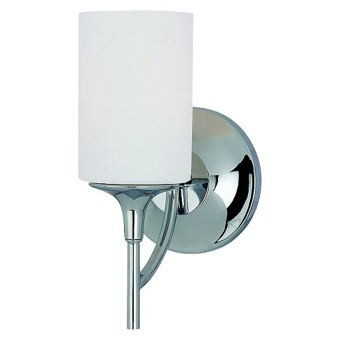 Sea Gull Lighting One Light Wall/Bath/Vanity-Chrome - image 1 of 2