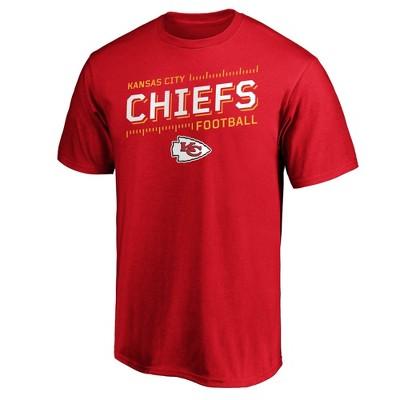 NFL Kansas City Chiefs Men's Short Sleeve Big & Tall T-Shirt