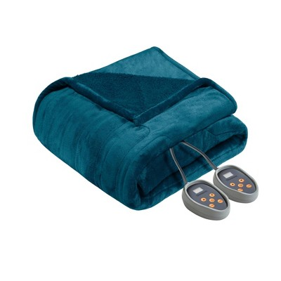 Microlight to Berber Electric Bed Blanket - Beautyrest