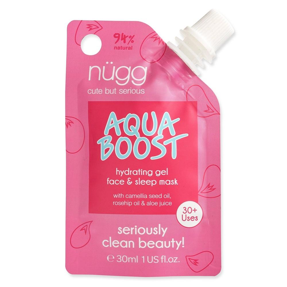 Image of Nugg Aqua Boost Hydrating Gel Face and Sleep Mask - 1 fl oz
