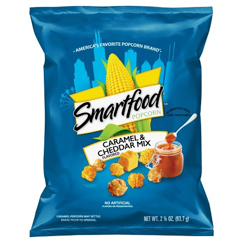 Smartfood Caramel & Cheddar Mix Flavored Popcorn - 2.25oz - image 1 of 3