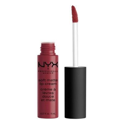 Lip Makeup: NYX Soft Matte Lip Cream