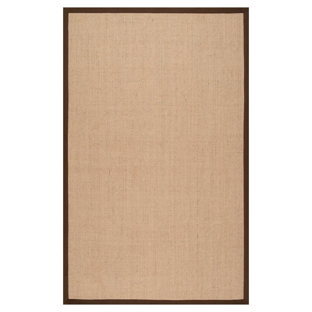nuLOOM orsay sisal Area Rug - Brown (8' x 10')