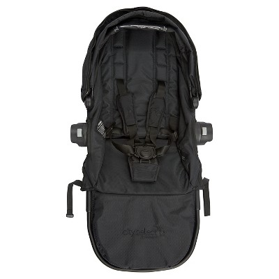Baby Jogger City Select Second Seat Kit Black Frame - Black