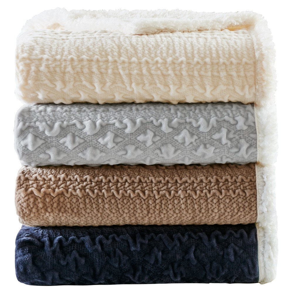 Navy (Blue) Solid Throw Blankets (