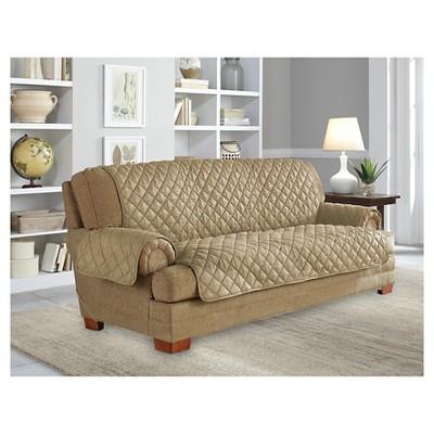 Bon Ultra Microsuede Waterproof Furniture Protector Sofa Slipcover   Serta :  Target