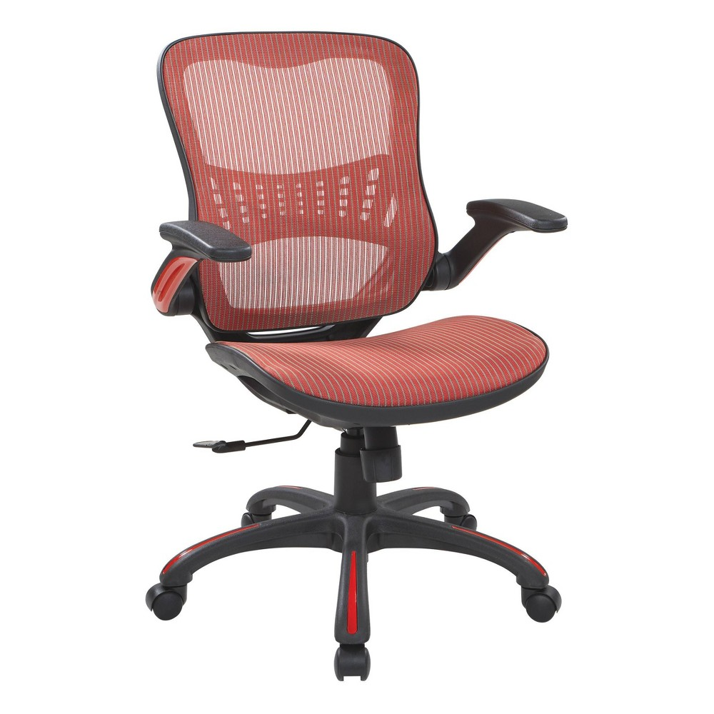 Mesh Seat And Back Manager 39 S Chair Red Osp Home Furnishings