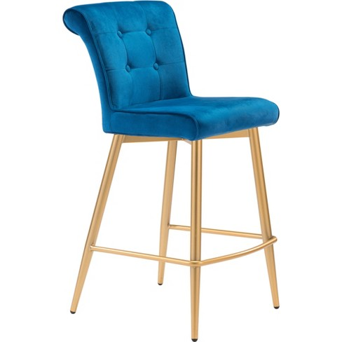 Modern Glam Counter Chair - ZM Home - image 1 of 4