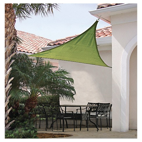 Shelter Logic Triangle Sun Shade Sail Lime Green 16 230 Gsm Target