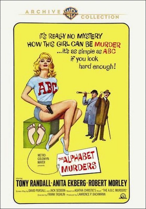 Alphabet murders (DVD) - image 1 of 1