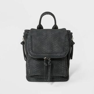 VR NYC Mini Kendall Backpack - Black