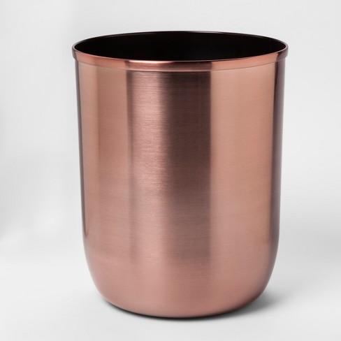 Solid Bathroom Wastebasket Rose Gold - Project 62™ - image 1 of 1