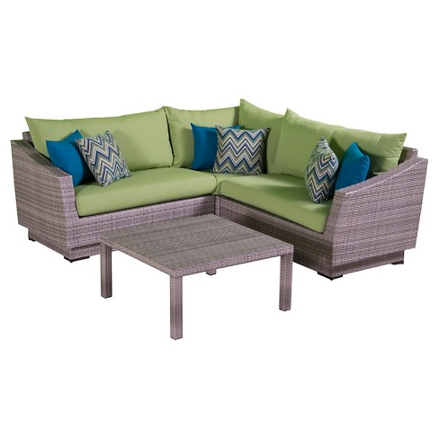 RST Brands Cannes 4-piece Corner Sectional Set - image 1 of 6