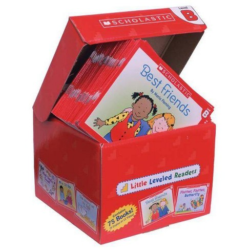 Little Leveled Readers: Level B Box Set - by  Scholastic Teaching Resources & Scholastic (Hardcover) - image 1 of 1