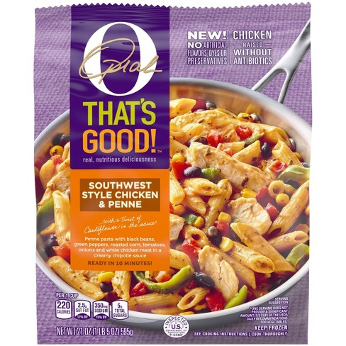 O, That's Good! Southwest Style Chicken & Penne Frozen Pasta - 21oz - image 1 of 4