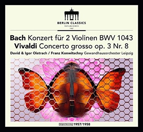 Gewandhausorchester - Bach/Vivaldi:Violin Concertos (CD) - image 1 of 1