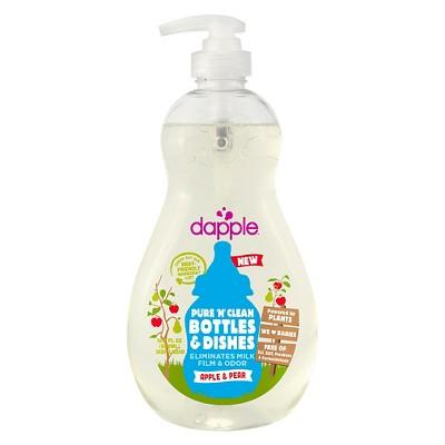 Dapple 16.9oz Apple- Pear Baby Bottle & Dish Liquid