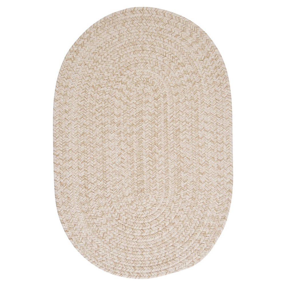 Tremont Braided Area Rug Natural 8 X11 Colonial Mills