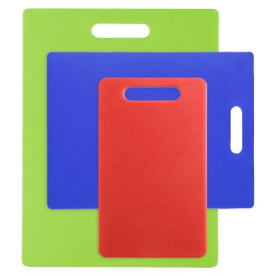 Dexas 3 Piece Cutting Board Set - Multicolor