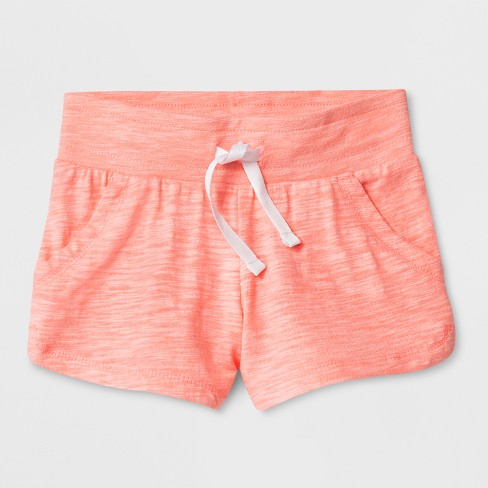 Toddler Girls' Trouser Shorts - Cat & Jack™ Coral - image 1 of 1